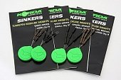 Огрузка для крючка Korda Sinkers Medium Gravel Brown KSKMB